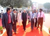 Director General Foreign Trade Visits NSIC -Techmart India 2014